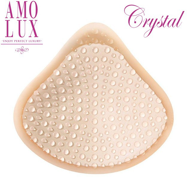 Amolux Crystal self adhesive breastforms