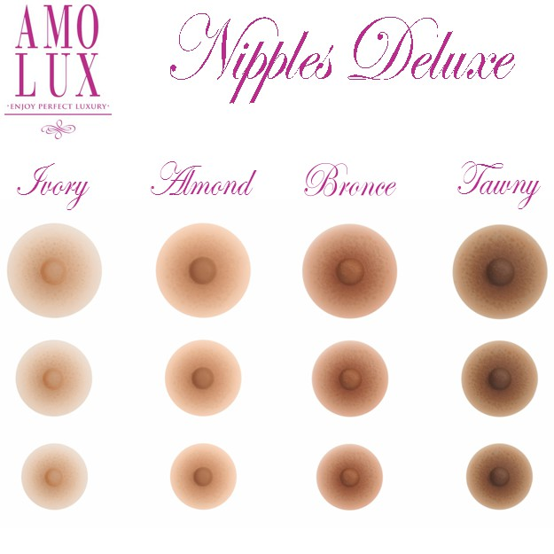 Nipples Amolux Deluxe self adhesive