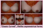 Silicone Boobs, asymmetrical