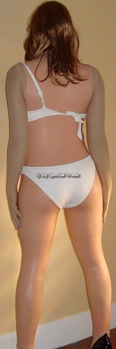 Femline Ultimate Female Body white swimsuit 1