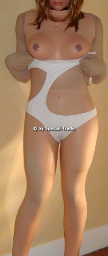 Femline Ultimate Female Body white swimsuit 2
