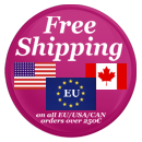 Free shipping to EU USA Canada