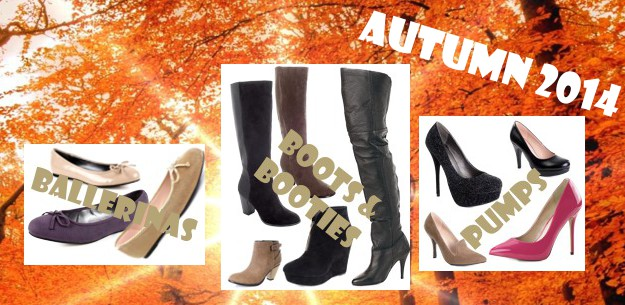 New wonderful Boots, Bootees, Pumps - Autumn 2014