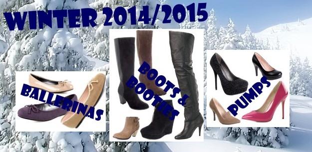 New wonderful Boots, Bootees, Pumps - Winter 2014 / 2015