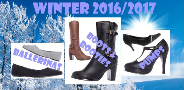 New wonderful Boots, Bootees, Pumps - Winter 2016/2017