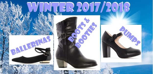 New wonderful Boots, Bootees, Pumps - Winter 2017/2018
