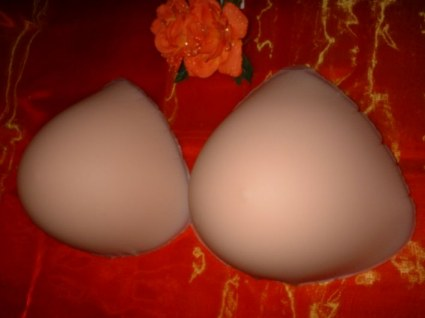 realistic breast prostheses Red Rose Ultra Soft Tria